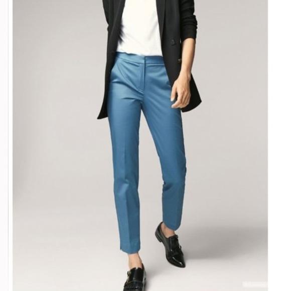 Massimo Dutti Pants - Massimo Dutti New high rise chino pants in blue